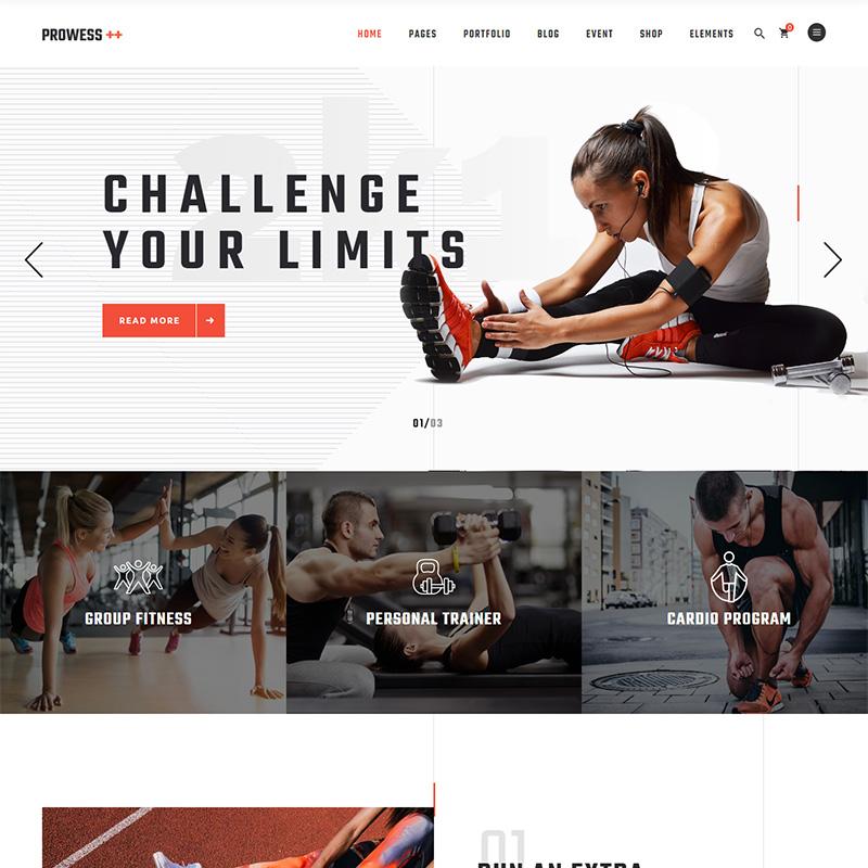 Gymster - Tema WordPress para Gimnasios