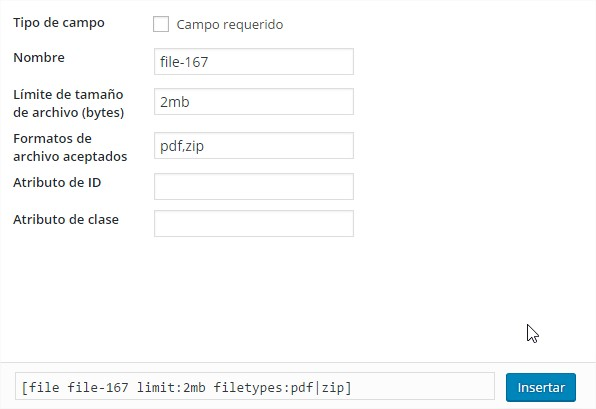 adjuntar archivo plugin contact form 7
