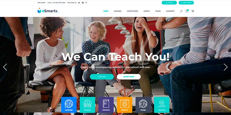eSmarts - Education & LMS Theme
