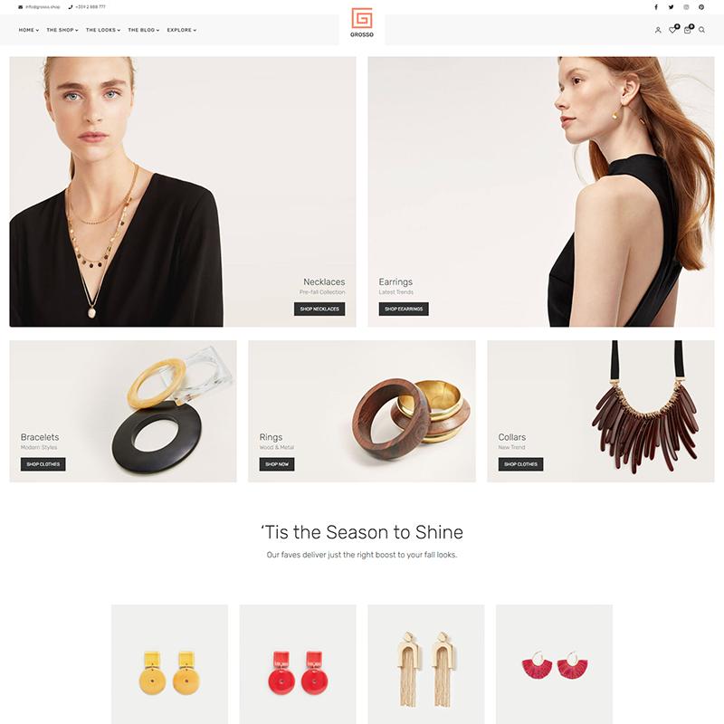 Grosso | Tema WordPress Tiendas Online de Complementos
