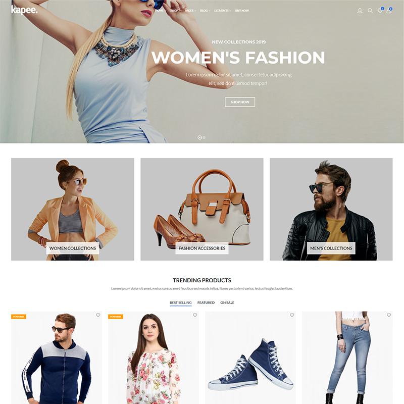 Tema WordPress Tiendas Online de Moda | Kapee