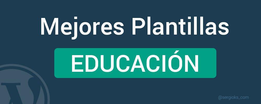 Mejores plantillas WordPress Educación colegios cursos