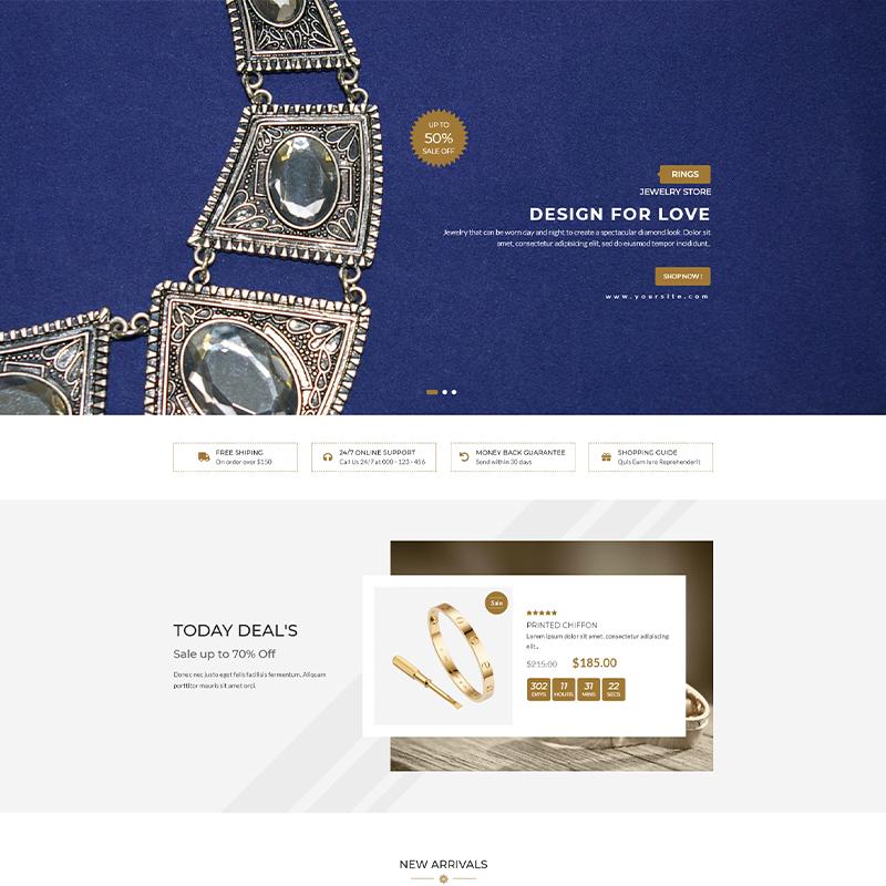 Karo | Plantilla WordPress para Joyerías