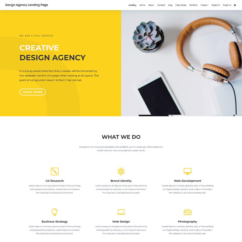Tema WordPress Porfolios para Agencias - Elegant